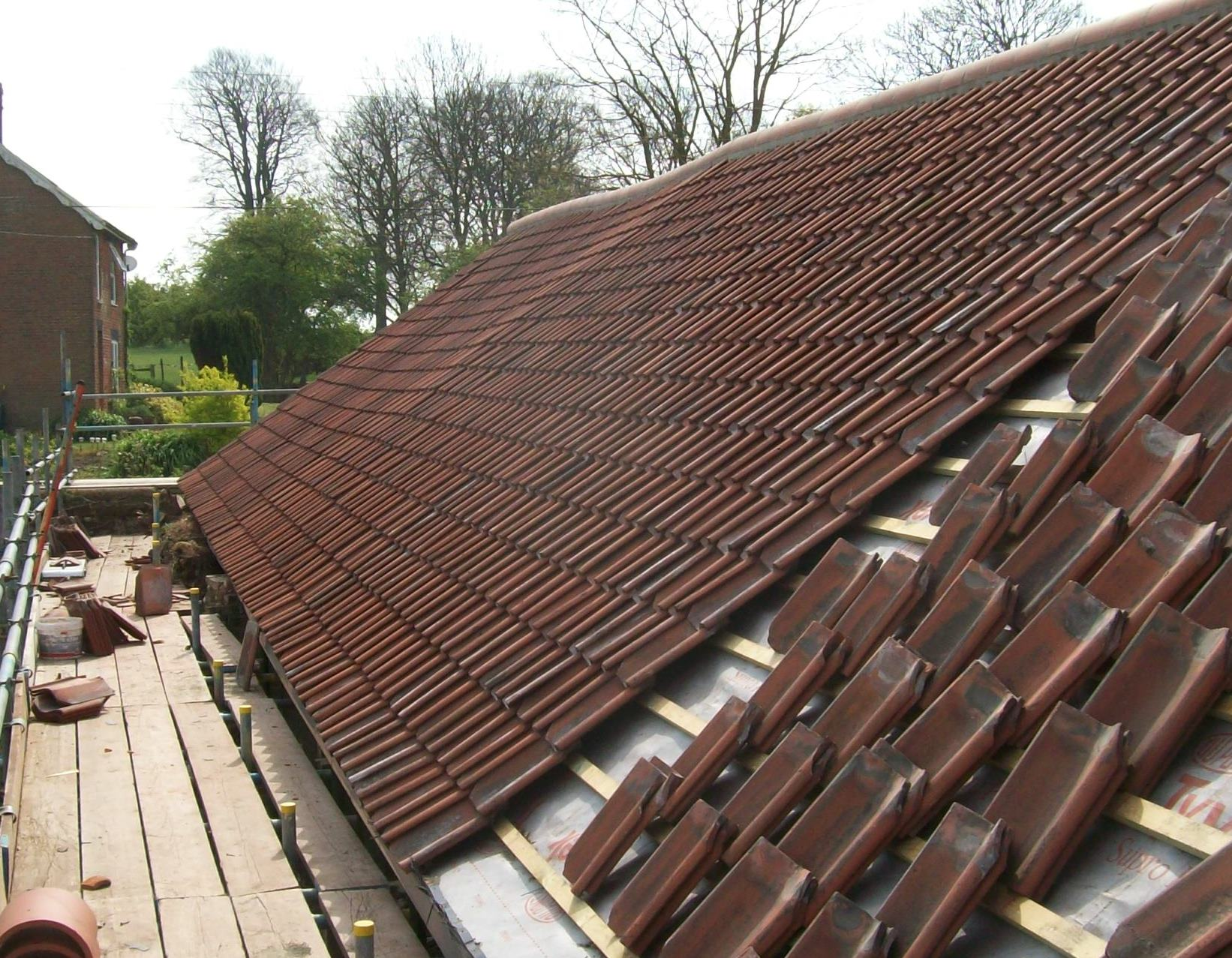 Pitched roofing Norfolk
