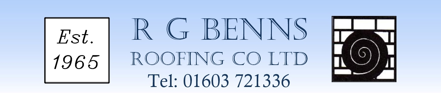 R G Benns Roofing Co Ltd Logo